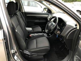 2014 Mitsubishi Outlander ZJ MY14.5 ES 4WD Grey 6 Speed Constant Variable Wagon