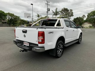2016 Holden Colorado RG LTZ White 6 Speed Automatic Dual Cab