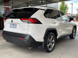 2019 Toyota RAV4 Axah54R GXL eFour White 6 Speed Constant Variable Wagon Hybrid