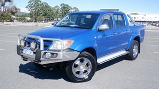 2006 Toyota Hilux GGN25R MY07 SR Blue 5 Speed Automatic Utility