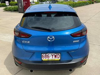 2019 Mazda CX-3 DK2W7A sTouring SKYACTIV-Drive FWD Blue 6 Speed Sports Automatic Wagon