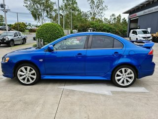2011 Mitsubishi Lancer CJ MY12 Ralliart TC-SST Blue 6 Speed Sports Automatic Dual Clutch Sedan