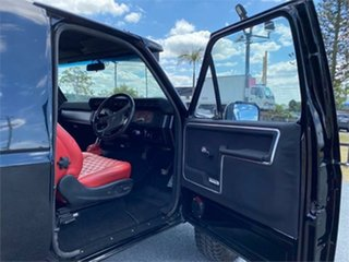 1982 Ford F100 Black 3 Speed Automatic Utility