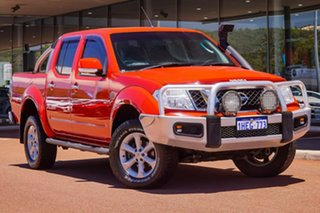 2012 Nissan Navara D40 S6 MY12 ST Red 6 Speed Manual Utility.