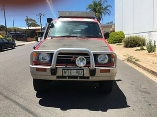 1993 Mitsubishi Pajero NH GLX Red 5 Speed Manual Wagon