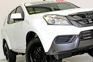 2016 Isuzu MU-X UC MY15.5 LS-M (4x2) White 5 Speed Automatic Wagon.