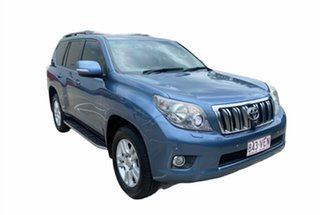 2009 Toyota Landcruiser Prado KDJ150R Kakadu (4x4) Blue 5 Speed Sequential Auto Wagon.