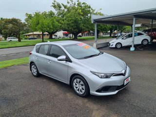 2015 Toyota Corolla ZRE182R MY15 Ascent Silver 7 Speed Automatic Hatchback.