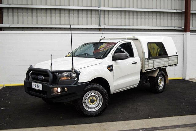 Used Ford Ranger PX MkII XL Plus Canning Vale, 2016 Ford Ranger PX MkII XL Plus White 6 Speed Sports Automatic Cab Chassis