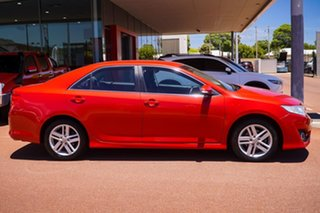 2012 Toyota Camry ASV50R Atara S Red 6 Speed Sports Automatic Sedan.