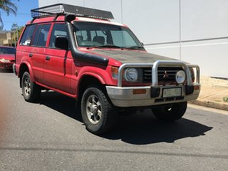 1993 Mitsubishi Pajero NH GLX Red 5 Speed Manual Wagon.