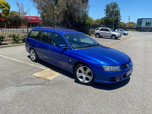 Used Holden Commodore VZ MY06 SVZ Mile End, 2006 Holden Commodore VZ MY06 SVZ Blue 4 Speed Automatic Wagon