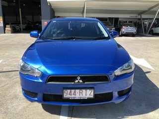 2011 Mitsubishi Lancer CJ MY11 SX Sportback Blue 6 Speed Constant Variable Hatchback.
