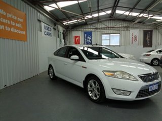 2009 Ford Mondeo MB Zetec White 6 Speed Sports Automatic Hatchback.