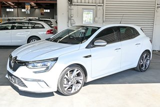 2017 Renault Megane BFB GT EDC White 7 Speed Sports Automatic Dual Clutch Hatchback