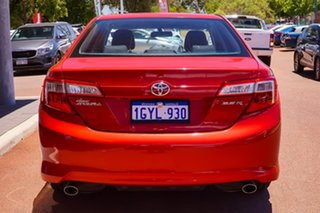 2012 Toyota Camry ASV50R Atara S Red 6 Speed Sports Automatic Sedan