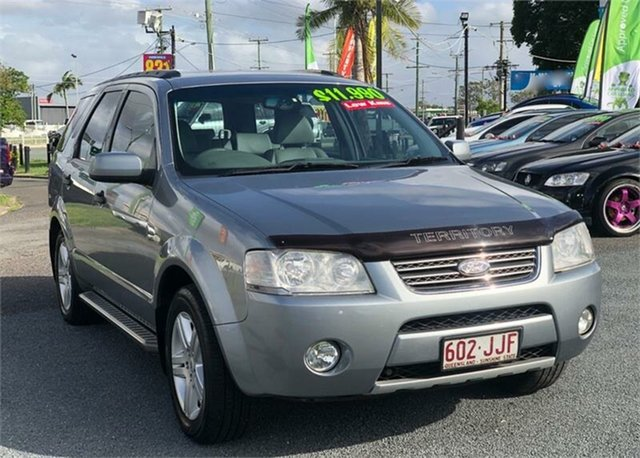 Used Ford Territory SY Ghia Archerfield, 2006 Ford Territory SY Ghia Grey 6 Speed Sports Automatic Wagon