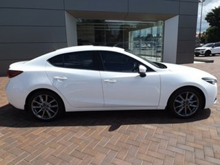 2016 Mazda 3 BN5238 SP25 SKYACTIV-Drive Astina White 6 Speed Sports Automatic Sedan.