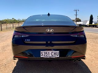 2020 Hyundai i30 PD.3 MY20 N Line D-CT Premium Phantom Black 7 Speed Sports Automatic Dual Clutch