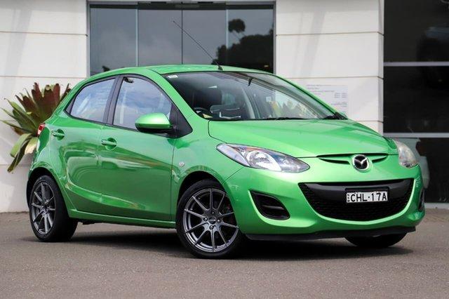 Used Mazda 2 DE10Y2 MY12 Neo Sutherland, 2012 Mazda 2 DE10Y2 MY12 Neo Green 5 Speed Manual Hatchback