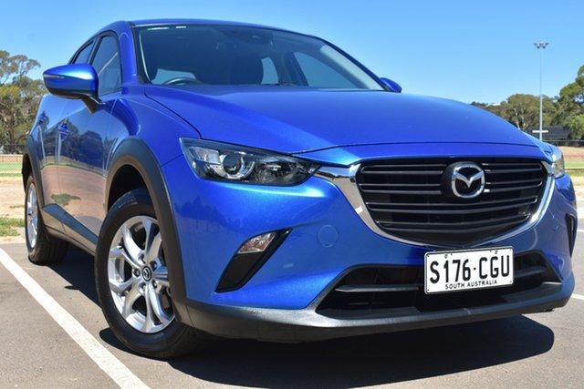 Used Mazda CX-3 DK2W7A Maxx SKYACTIV-Drive St Marys, 2018 Mazda CX-3 DK2W7A Maxx SKYACTIV-Drive Blue 6 Speed Sports Automatic Wagon
