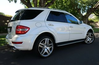 2010 Mercedes-Benz M-Class W164 MY10 ML63 AMG White 7 Speed Sports Automatic Wagon.