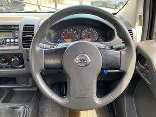 2009 Nissan Navara D40 RX Silver 6 Speed Manual Utility