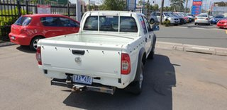 2008 Holden Rodeo RA MY08 LX Crew Cab 4x2 White 4 Speed Automatic Utility