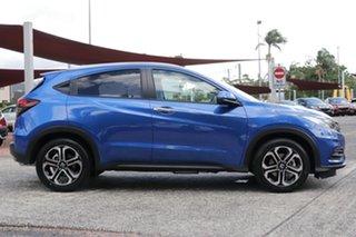 2020 Honda HR-V MY21 VTi-LX Brilliant Sporty Blue 1 Speed Constant Variable Hatchback