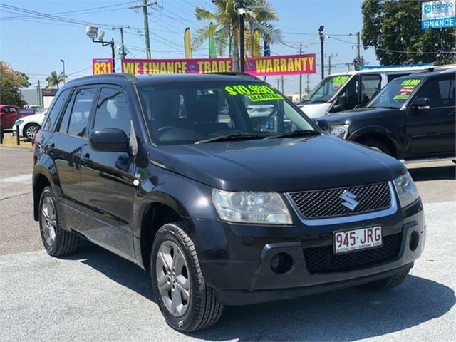 Used Suzuki Grand Vitara JB JLX Archerfield, 2006 Suzuki Grand Vitara JB JLX Black 5 Speed Manual Wagon