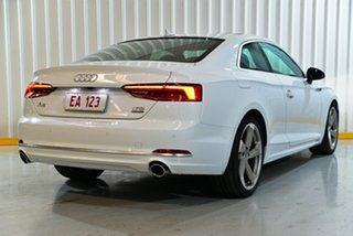 2017 Audi A5 F5 MY17 Sport S Tronic Quattro White 7 Speed Sports Automatic Dual Clutch Coupe