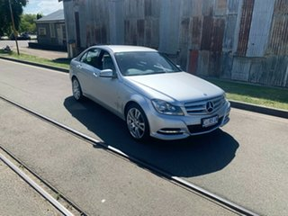 2012 Mercedes-Benz C-Class W204 MY12 C250 CDI BlueEFFICIENCY 7G-Tronic + Elegance Silver 7 Speed.