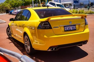 2012 Holden Commodore VE II MY12 SS Yellow 6 Speed Sports Automatic Sedan.