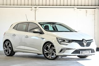 2017 Renault Megane BFB GT EDC White 7 Speed Sports Automatic Dual Clutch Hatchback.