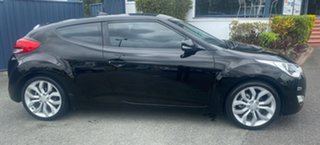 2012 Hyundai Veloster FS Coupe Black 6 Speed Manual Hatchback.