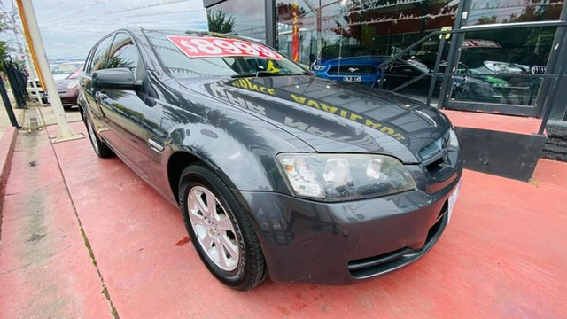 Used Holden Commodore VE MY09 Omega Sportwagon Maidstone, 2008 Holden Commodore VE MY09 Omega Sportwagon Grey 4 Speed Automatic Wagon
