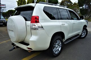 2012 Toyota Landcruiser Prado KDJ150R VX White 5 Speed Sports Automatic Wagon