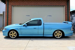 2004 Ford Falcon BA Mk II XR8 Ute Super Cab Blue 4 Speed Sports Automatic Utility