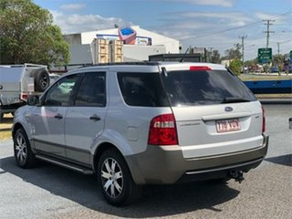 2007 Ford Territory SY SR Silver 4 Speed Sports Automatic Wagon