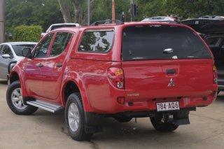 2015 Mitsubishi Triton MN MY15 GLX Double Cab Red 5 Speed Manual Utility.