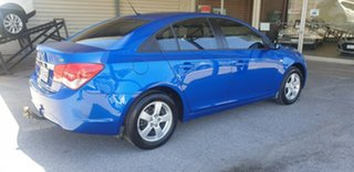 2010 Holden Cruze JG CD Blue 6 Speed Sports Automatic Sedan.