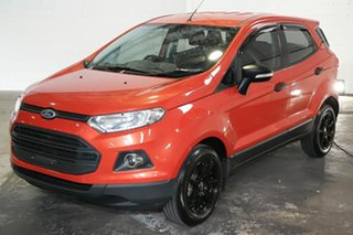 2015 Ford Ecosport BK Ambiente Red 5 Speed Manual Wagon