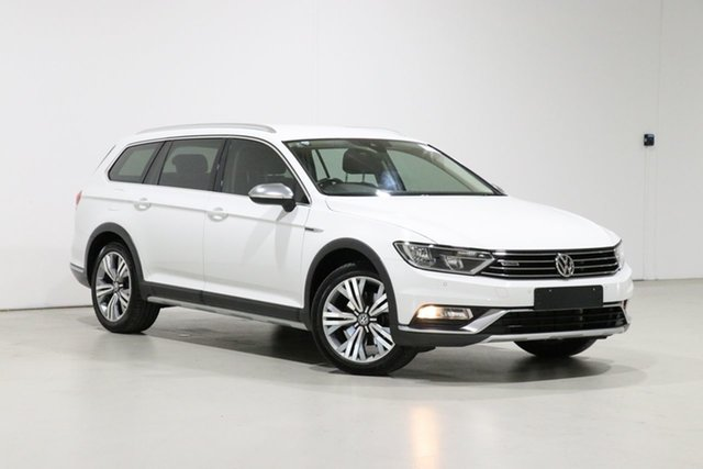 Used Volkswagen Passat 3C MY16 Alltrack 140 TDI Bentley, 2016 Volkswagen Passat 3C MY16 Alltrack 140 TDI White 6 Speed Direct Shift Wagon