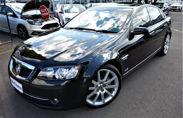 Used Holden Calais VE II V Seaford, 2011 Holden Calais VE II V Black 6 Speed Sports Automatic Sedan