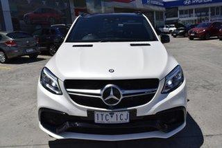 2016 Mercedes-Benz GLE-Class W166 GLE63 AMG SPEEDSHIFT PLUS 4MATIC S White 7 Speed.