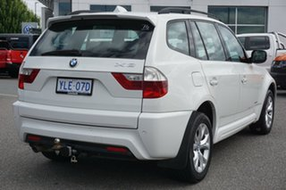 2009 BMW X3 E83 MY09 xDrive20d Steptronic Lifestyle White 6 Speed Automatic Wagon