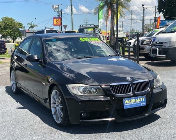 Used BMW 335i E90 335i Archerfield, 2007 BMW 335i E90 335i Black 6 Speed Sports Automatic Sedan