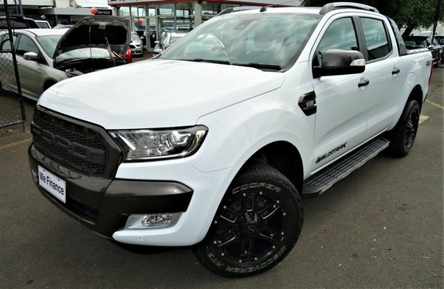 Used Ford Ranger PX MkII Wildtrak Double Cab Seaford, 2017 Ford Ranger PX MkII Wildtrak Double Cab White 6 Speed Sports Automatic Utility