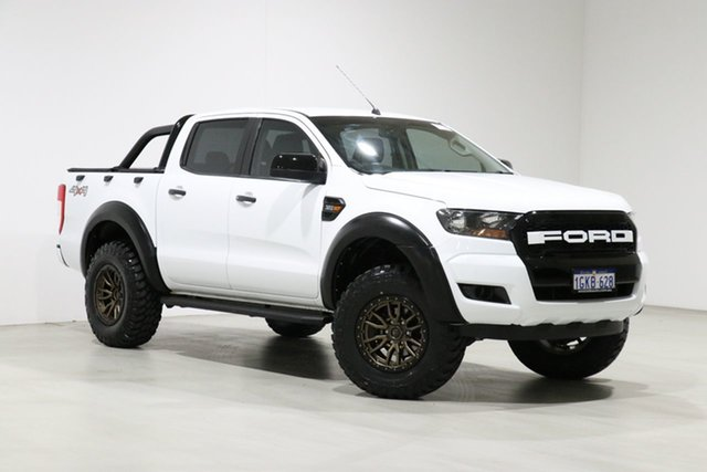 Used Ford Ranger PX MkII MY17 Update XL 3.2 (4x4) Bentley, 2017 Ford Ranger PX MkII MY17 Update XL 3.2 (4x4) White 6 Speed Automatic Crew Cab Utility