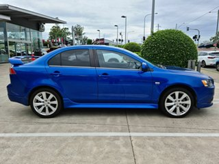 2011 Mitsubishi Lancer CJ MY12 Ralliart TC-SST Blue 6 Speed Sports Automatic Dual Clutch Sedan.